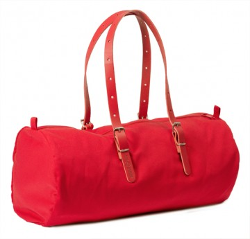 "BAG ""DUFFLE-CO"" (DU-CO-RO) red"