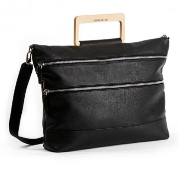 "BRIEFCASE ""BEECH"" (SFL-10-NE) black"