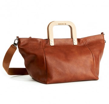 "HANDBAG ""BEECH"" (SFL-20-CU) brown"